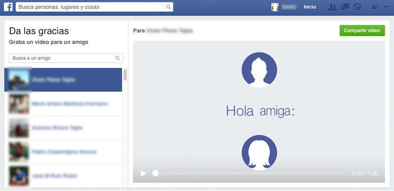 Nueva aplicación de Facebook