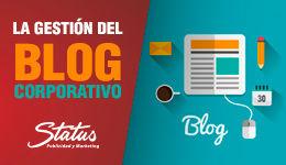 Gestión blog corporativo