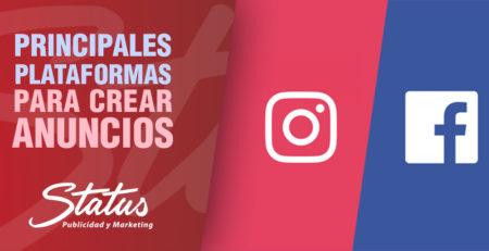 Principales plataformas crear anuncios