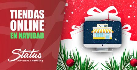 Tiendas online en Navidad